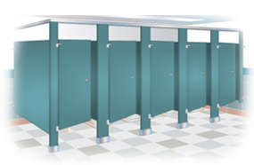 View Bradley Toilet Partition Product Pages