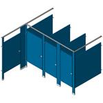 Alcove - ADA - Ambulatory - Standards Stalls Configuration