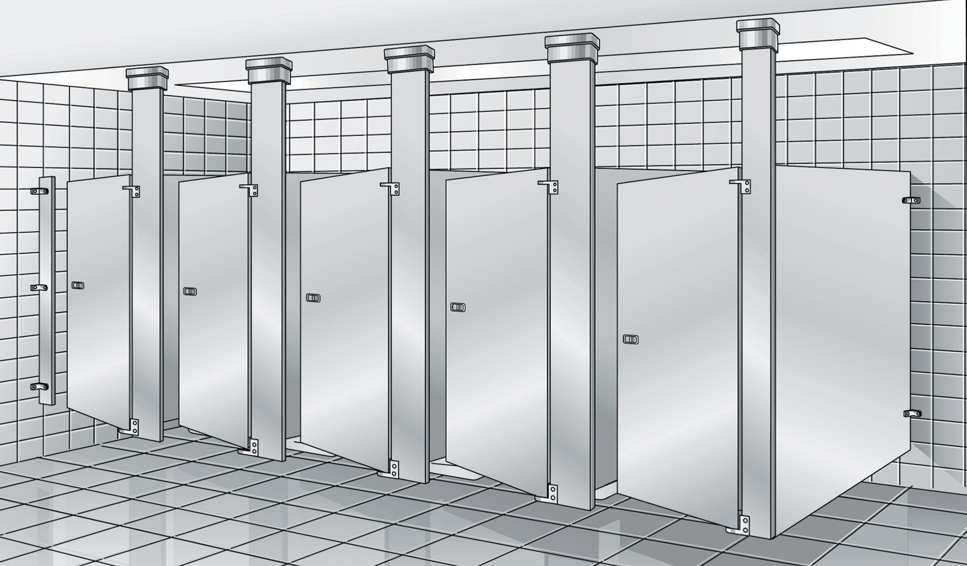 Commercial Bathroom Stall Dimensions