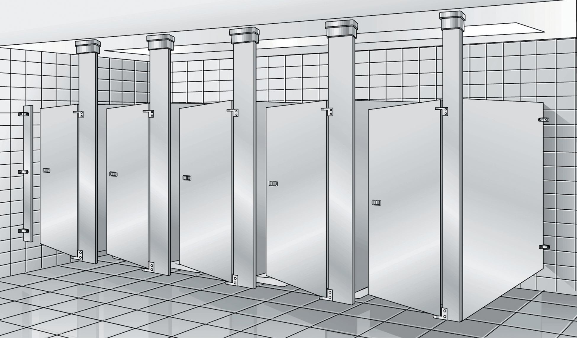 bradley revit toilet partition family instruction sheet revit