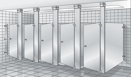 Bradley Revit Toilet Partition Family Instruction Sheet