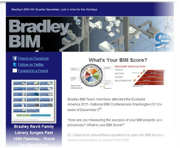 Subscribe | Bradley BIM Quarterly Newsletter