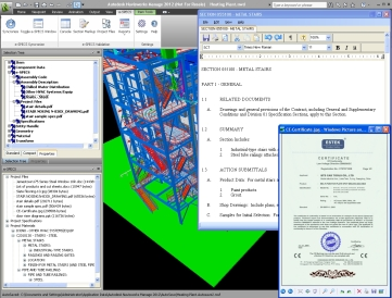 e-SPECS Construction Specifications for Navisworks