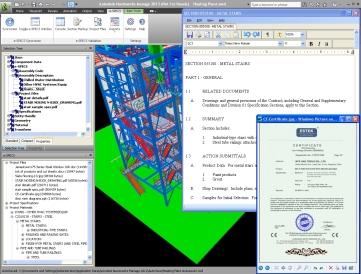 e-SPECS Construction Specifications for Navisworks