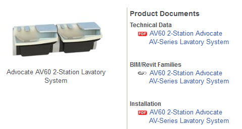 View Advocate AV60 | 2 Station Lavatory System | Product Page
