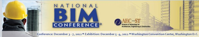 National BIM Conference 2012   Washington DC
