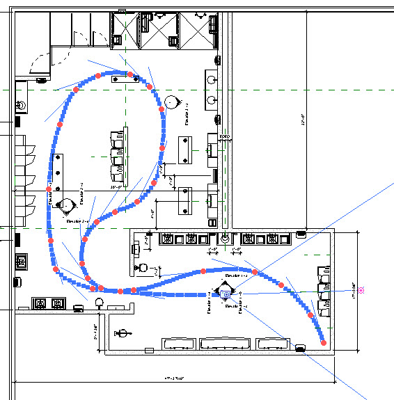 Revit Walkthrough Camera Path Settings | Plan View