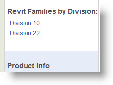 View-Download Bradley Division 10 or Division 22 Revit Family Models