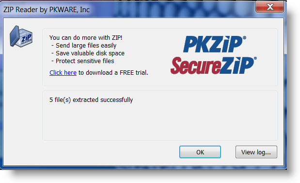 Download Free ZIPReader – PKUNZIP Software from PKWARE