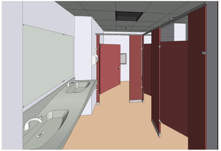 Bradley Revit Toilet Partition Visibility Settings Revit
