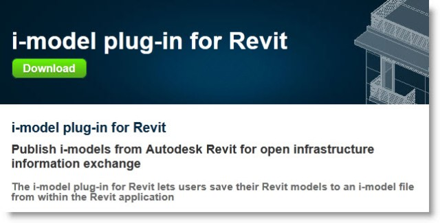 Free Bentley MicroStation i-model Plug-in for Autodesk Revit