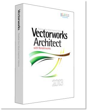 Nemetschek Vectorworks Architect 2013 Renderworks