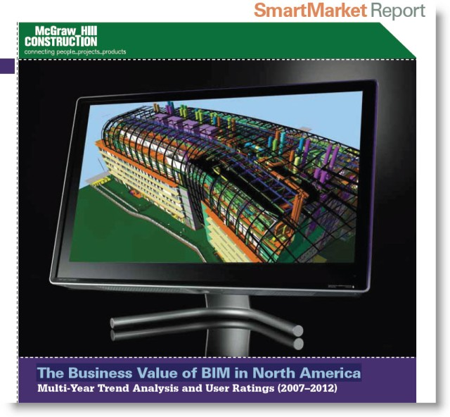 Download 2012  SmartMarket Report | Business Value of BIM in North America Review from 2007 - 2012