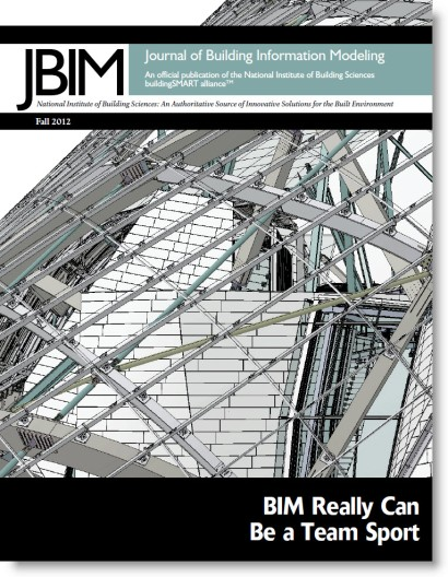 Download Journal of Building Information Modeling | JBIM Fall 2012