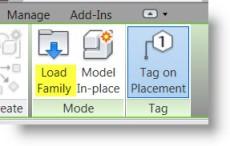 Load Revit Family Button