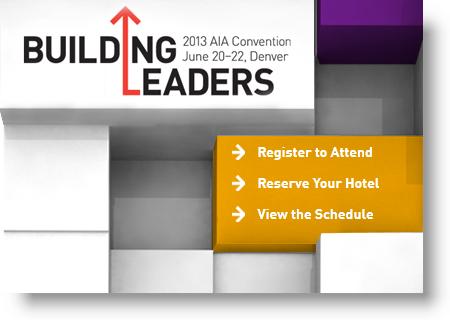 View AIA 2013 National Convention | Denver Colorado