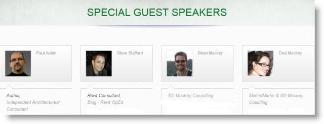 Central States Revit Workshop  | Special Guest Speakers 2013 | Omaha