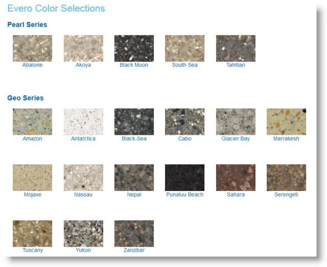 Bradley Evero Natural Quartz Solid Surface Material