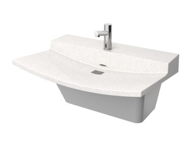 View Product Page   Single-Station Verge VLD Series Lavatory System