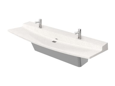 View Product Page   2-Station Verge VLD Series Lavatory System   Revit Family