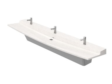 View Product Page   3-Station Verge VLD Series Lavatory System