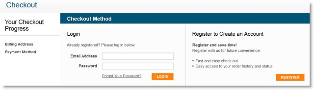 McGraw Hill Store Checkout Registration
