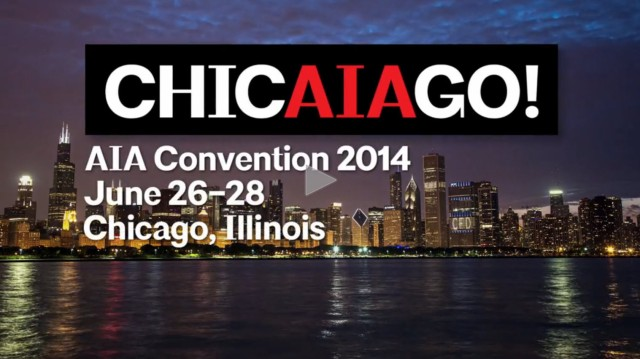 View American Institute of Architects (AIA) National Convention 2014 Chicago Video by Filmmaker Eric Hines