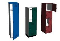 bradley_lenox_tiered_lockers_revit_family_library_plastic_options