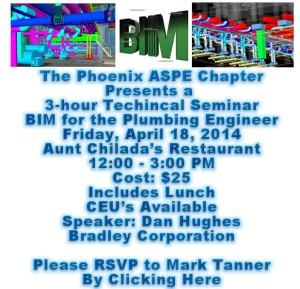 Phoenix American Society of Plumbing Engineers (ASPE) BIM_Technical_Seminar