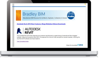 View Bradley Quarterly BIM Newsletter| (Published JULY 2014)