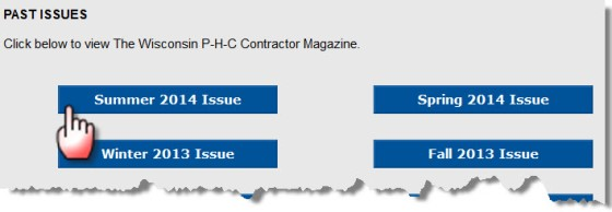 View Plumbing-Heating-Cooling Contractors | Wisconsin Association Magazine Archives