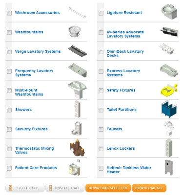 Download Complete Bradley Revit Family Library (1000 Families) – Download All Options