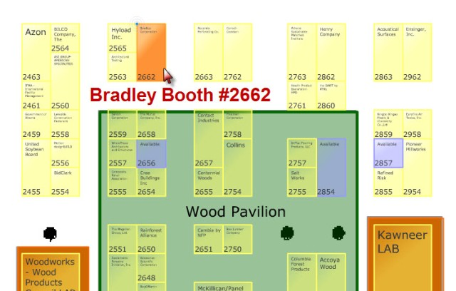 Bradley Corporation Greenbuild 2014 Booth #2662 New Orleans