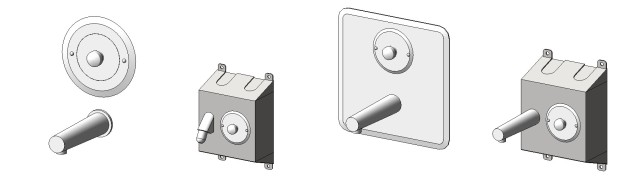 Bradley Ablution Fixture Revit Library for Hand and Foot Washing | Plumbing Fixture