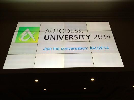 Autodesk University (AU) 2014 | Las Vegas | Bradley BIM
