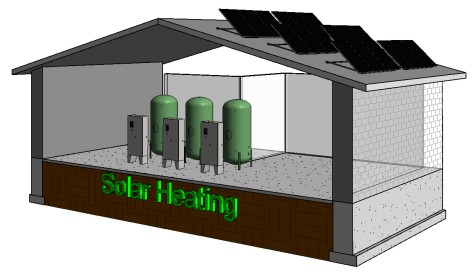 Bradley-Keltech Tankless Water Heaters for Solar Heating