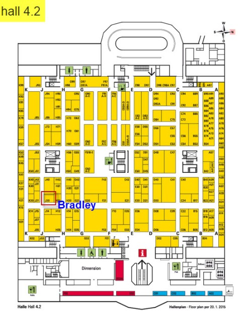 Pick to access online ISH 2015 Hall 4.2 Booth Online Floor Plan Frankfurt Germany