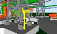 bradley_bim_revit_export_acis_file_oil_gas_rigs