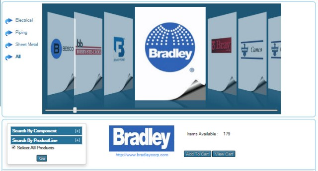 View Bradley BIM SysQue (Revit MEP) and Autodesk Fabrication (AutoCAD-ITM) for MEP Library