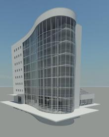 More than a dozen firms initially used only two Revit materials in their models: White Foam Core and Clear Glass