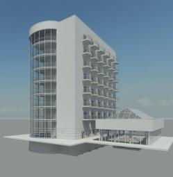 Hotel_Foamcore_Revit_Model_Rendering2