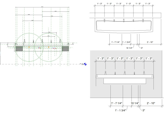 Revit Family Reference Planes for Toilet Room and ADA Design Review