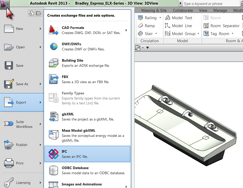 ArchiCAD | Revit Family IFC Export Delivers Building Product