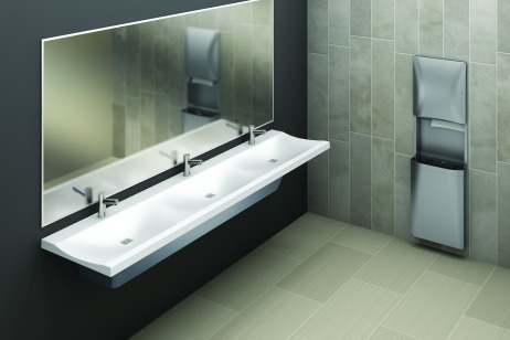 Bradley Verge LVS-Series 3-Station Lavatory-Sink Installation